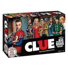 Big Bang Theory Clue!