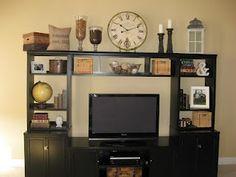 entertainment center on pinterest. Black Bedroom Furniture Sets. Home Design Ideas