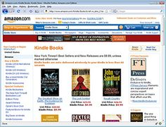 Kindle for PC  Read more than 1 million Kindle books on your computer with Amazon's free Kindle reading app. No Kindle required.