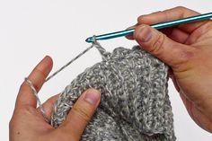 Crochet Boot Cuff Free Pattern - inspirednest.ca