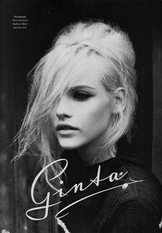 Love Magazine - Ginta