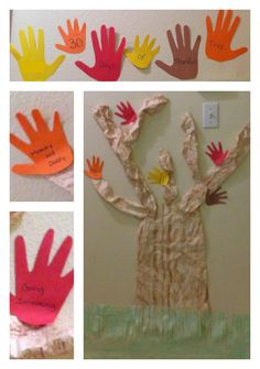 30 Days of Thankful Tree - Thanksgiving Craft for Kids