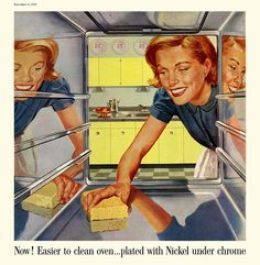 1958 Atomic Housewife Ad