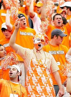 University of Tennessee fans