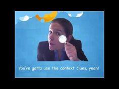 Context Clues Song - Lyrics on Screen - YouTube