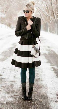 Pretty Striped Dress http://rstyle.me/n/dzgfxr9te