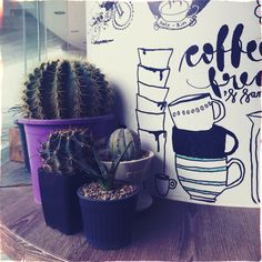 Cacti coffee