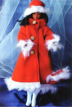 The chorradikas Laury: free coat pattern barbie
