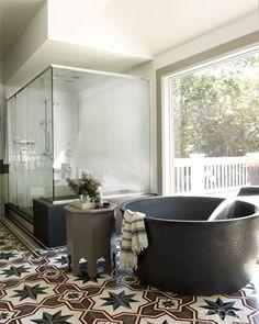 Bobby Flay's Hamptons Bathroom