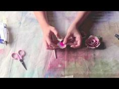 Printable Rolled Roses With Marion Smith