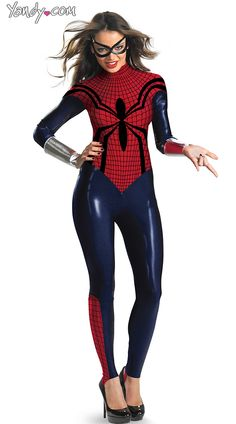 I actually like this because unlike most superhero costumes made for women, your lady parts can stay in the shirt.