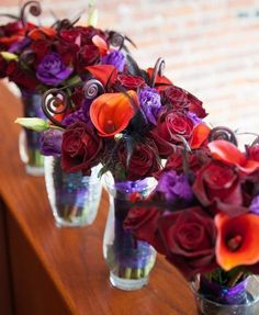 such pretty flowers with the deep purples