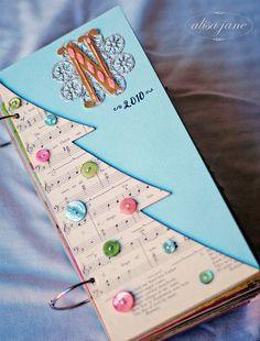 very cute way to do a Christmas tree