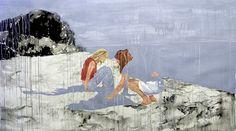 Painting by Oscar Lett