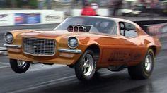 2013 Fuel and Gas Nostalgia Drags Nitro Funny Car Huston Platt's Dixie Twister Nostalgia Drag Racing