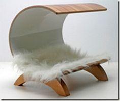 A modern dog bed!