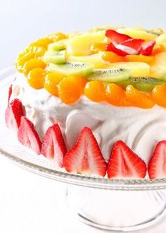 Korean Cream Cake
