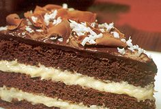Bolo prestígio (chocolate and coconut cake). One of my favorites!