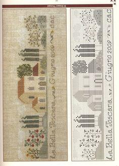 Gallery.ru / Фото #1 - 25 - tatasha houses, galleryru, villa, crossstitch, hous stitch, tatasha, cross stitch patterns, cross stitches, embroideri