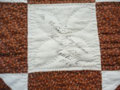 Rags 1866 1868 Signature Friendship Quilt Penn Hall PA Mint Condition   eBay