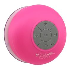 "Aduro AquaSound WSP20 ""Lifetime Warranty"" Waterproof Shower Bluetooth Portable Speaker (Pink) Aduro http://www.amazon.com/dp/B00II6QK2K/ref=cm_sw_r_pi_dp_4Dl7tb049RS87"