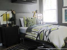 Simple Details: teen boy's bedroom makeover