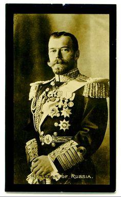 Czar czar nichola, russian royaltyhistori, cigarett card, czar alexi, cards