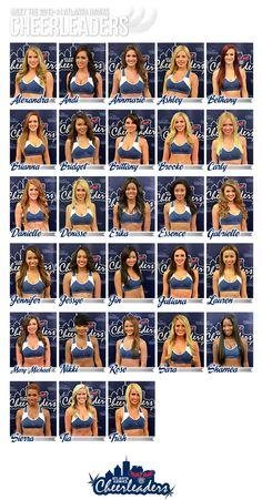 Time to meet the new 2013-14 Atlanta Hawks Cheerleaders!