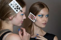 Backstage at Honor NYFW, Spring 2015