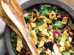 frito. taco salad. garlic-chile vinaigrette.