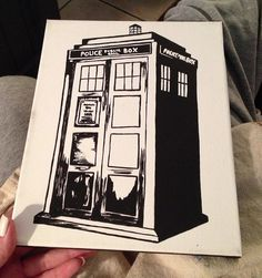 Doctor Who, Tardis Canvas