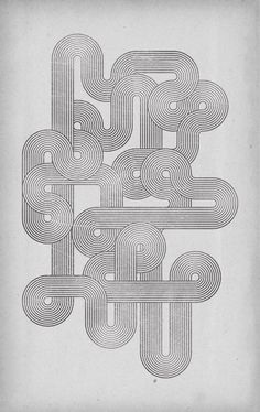 Retro Style Geometric Lines Poster Design Tutorial