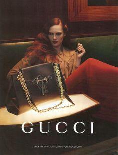 Karmen Pedaru - Gucci - Gucci Pre Fall 2012 Campaign