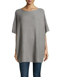 Vince Slouchy Wool Poncho