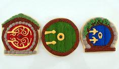Another idea for hobbit door cookies. #Hobbit #Middle-earth