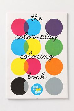 The Color-Play Coloring Book - Anthropologie.com