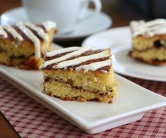 Cinnamon Roll Coffee Cake with Cream Cheese Frosting