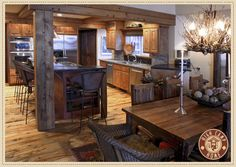 www.highcamphome.com ~ rustic kitchen design
