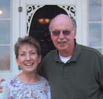 Janelle and Jim Marshall -- owners of P K Glitz