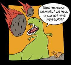 If this were true, maybe dinosaurs aren't that bad afterall...
