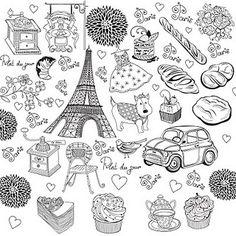 Free Digi Stamps | Love Paris