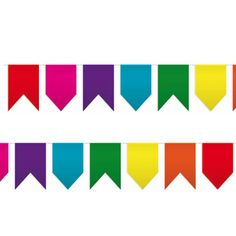 Un banderín de colores con banderas de distintas formas, para fiestas originales - de www.fiestafacil.com, €4,90 / An original pennant banner, from www.fiestafacil.com decorar fiesta, kit cumpleaño, de cumpleaño, pennant banner, fiesta hippi, fiestas, de wwwfiestafacilcom, hippi parti