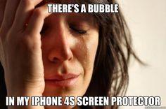 My first world problem.