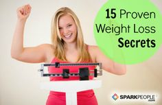 15 proven strategies for weight-loss success | via @SparkPeople #diet #fitness #RockYourResolution