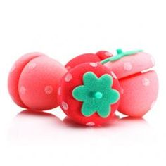 Etude House: Strawberry Sponge Hair Rollers ( when I have long hair again :)