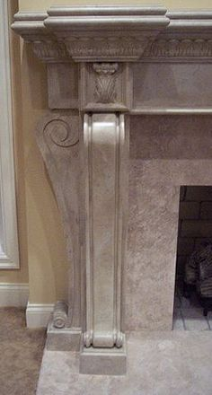 Fireplace Mantle and Corbels