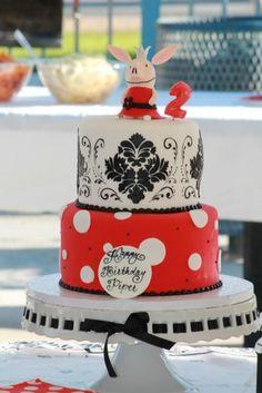 Olivia the Pig cake #olivia #cake