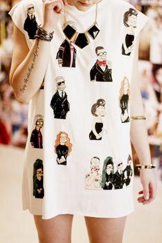 fashion icons meet the simpsons