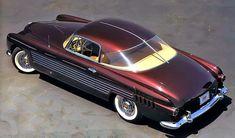 1953 Cadillac Coupe Ghia, rear top