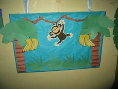 Jungle monkey A nice craft that would take a few days for the before and after school kids
